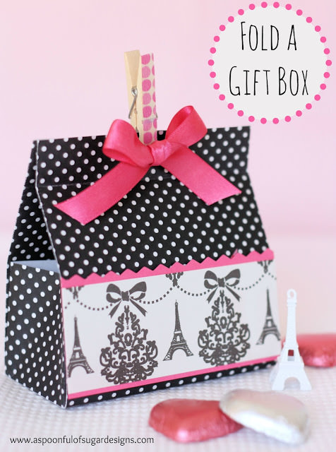 How to fold a gift box