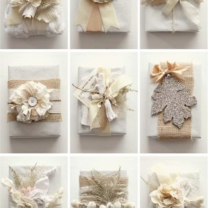 Natural gift wrap ideas