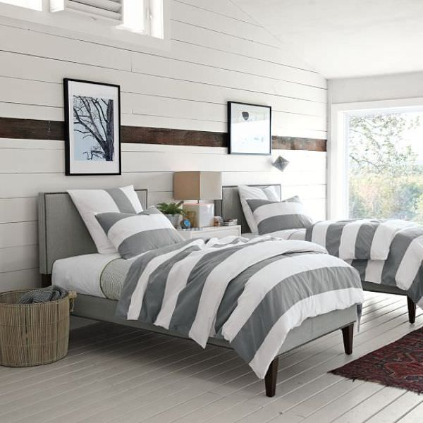 Contemporary bedroom decorating how to the budget decorator for West elm bedroom ideas