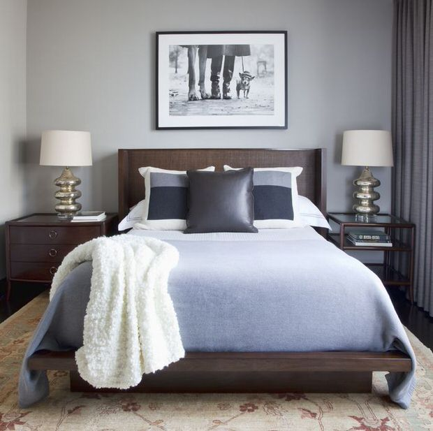 Contemporary Bedroom Decorating: How-To • The Budget Decorator