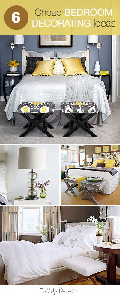 Itu0027s Easy To Do Though, And Here Are Six Quick Bedroom Decorating Ideas  That Wonu0027t Break Your Budget!