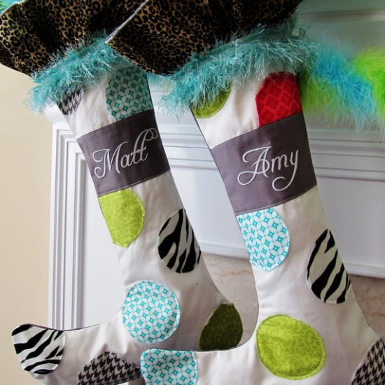 DIY Christmas Stockings - Patterns & Projects