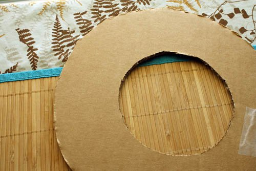 DIY wreath base