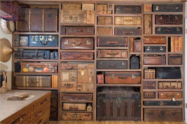 unique and repurposed wall storage ideas • the budget decorator