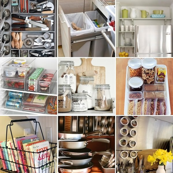 Kitchen Organizing Ideas simple ideas to organize your kitchen • the budget decorator