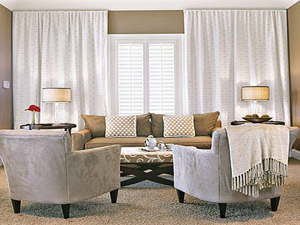 Cozy winter decorating ideas the budget decorator for International decor window treatments