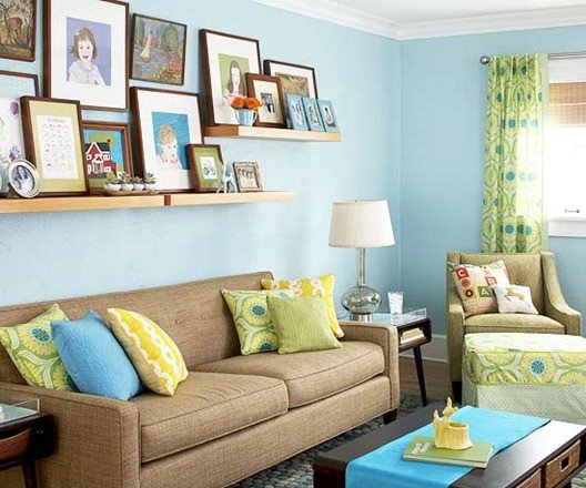 Family Room Decorating Best 5 Quick And Cheap Decorating Ideas For Family Living  The Budget Decorating Inspiration