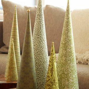 Christmas cone trees