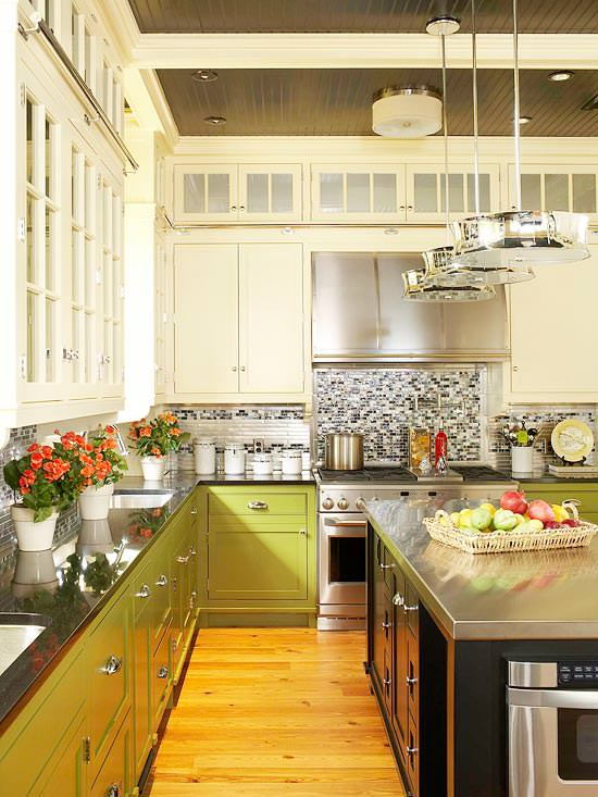 Contemporary kitchen decorating