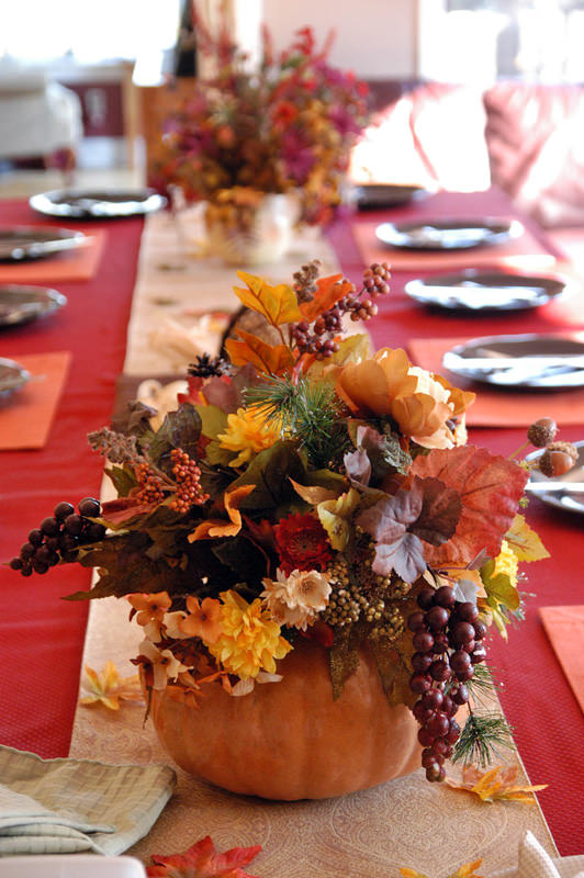 5 quick and cheap thanksgiving decorating ideas the Cheap table decoration ideas
