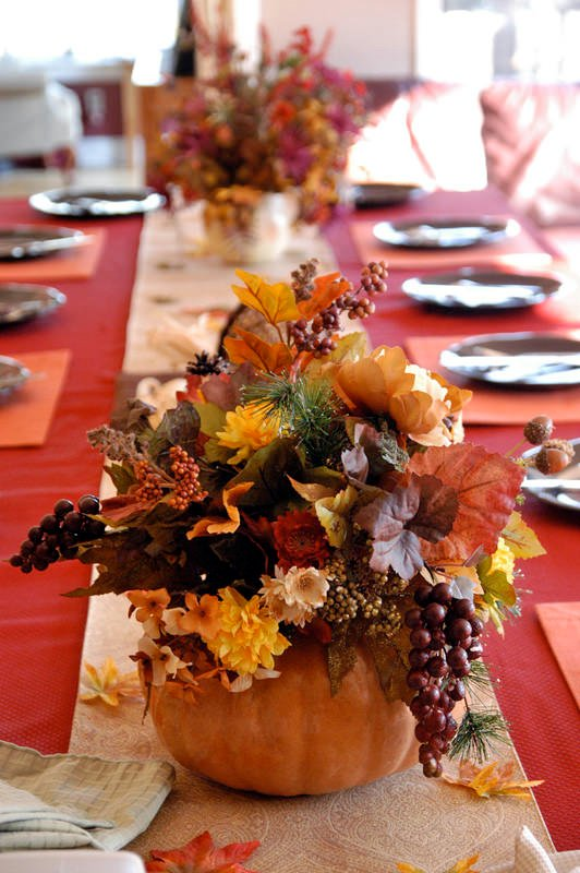Digsdigs Thanksgiving Table Decorations 10