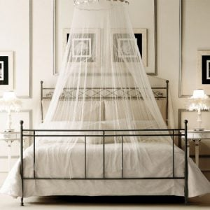 DIY bed canopy