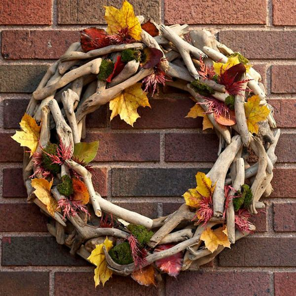 diy nature wreaths