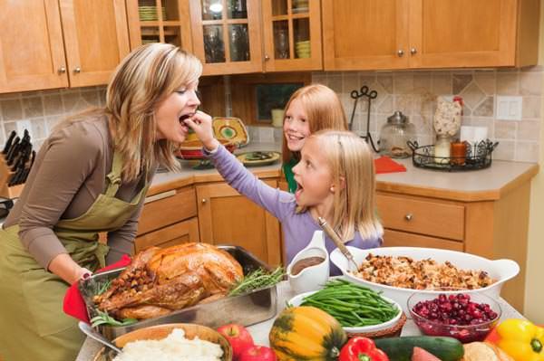 Organized Thanksgiving