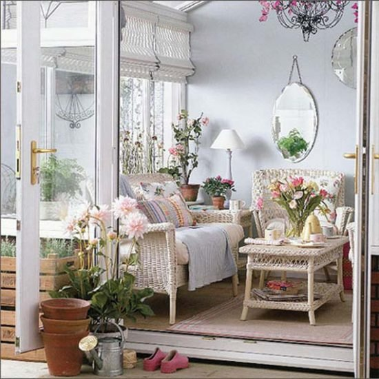 Garden room decorating