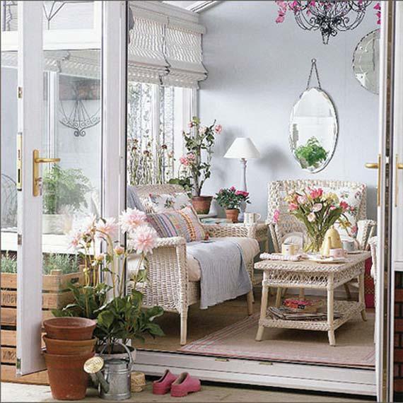 Garden Room Interior Design Ideas Part - 15: The Budget Decorator