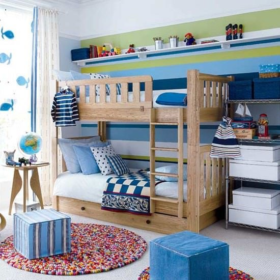 Storage solutions for kids 39 rooms the budget decorator for Kids room shelves