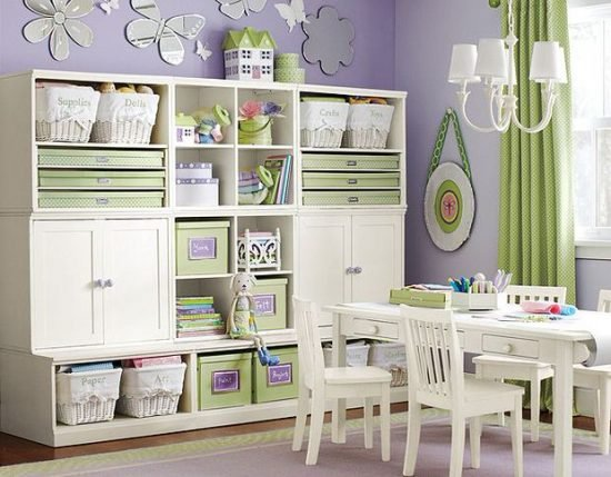 Kids storage room