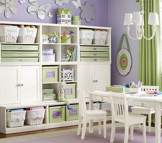Kids storage room