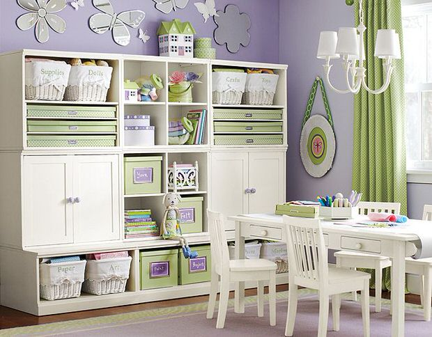Storage Solutions for Kids Rooms The Budget Decorator