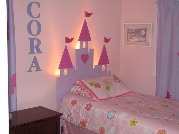 Princess Theme Bedroom • The Budget Decorator