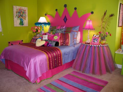 Lovely Princess Theme Bedroom . Courtesy Of Sandi Blair.