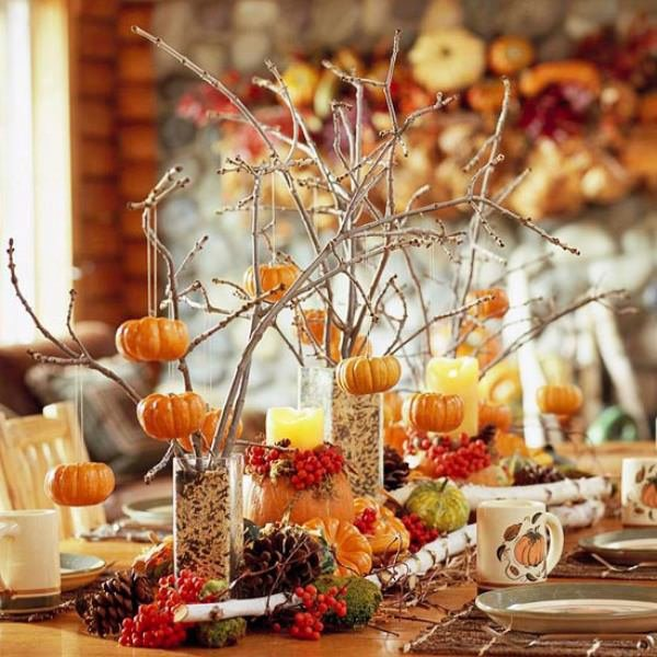 Fall Wedding Decoration Ideas On A Budget: 5 Quick And Cheap Thanksgiving Decorating Ideas • The