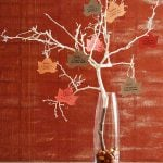 DIY Project: Thanksgiving Tree