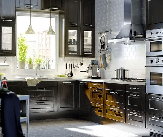 Ikea modern kitchen