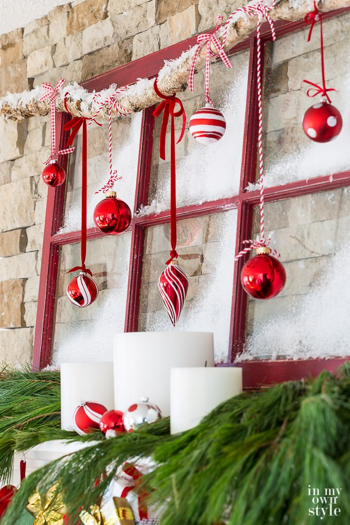 This Inspirational Holiday Mantel From HGTV Is An Idea I Have Used In My  Own Homeu2026 I Am Still A Little Obsessed With Chalkboards!