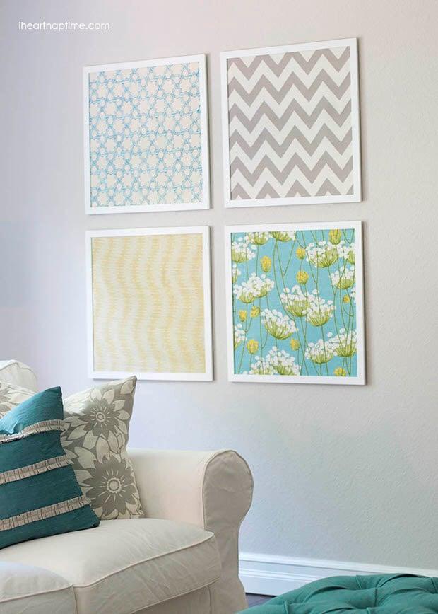 DIY-fabric-art