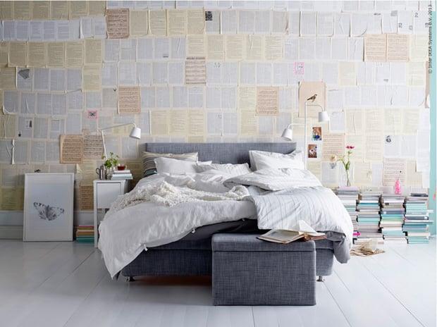 diy shoestring wall art ideas the budget decorator. Black Bedroom Furniture Sets. Home Design Ideas