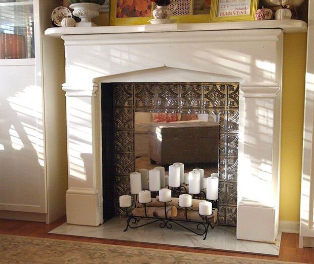 diy faux fireplace ideas projects u2022 the budget decorator rh thebudgetdecorator com