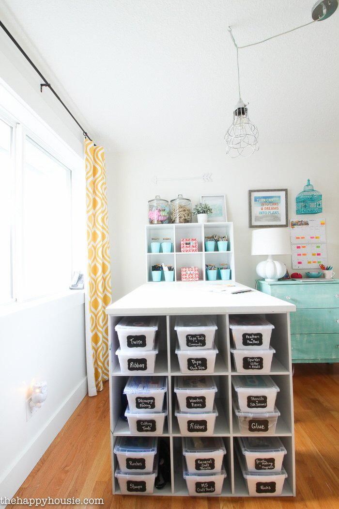 Just Because Your Craft Room Is About Function, Doesnu0027t Mean It Canu0027t Be  Pretty! Make Sure This Space Reflects Your Personalityu2026after All, This  Isnu0027t Like ...