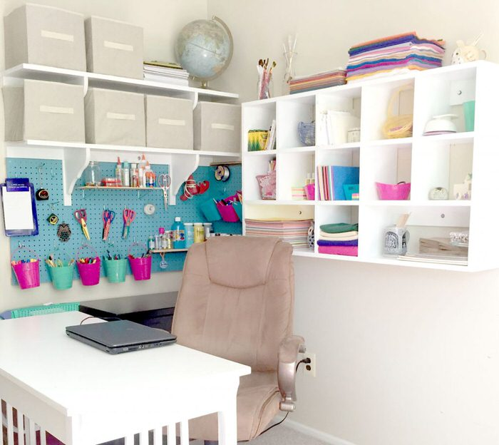 Lovely Make This Craft Room Work Table With File Cabinets With This Tutorial From  U0027In My Own Styleu0027. (Hint: It Doubles As An Office!)