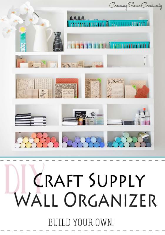 Diy Craft Room Ideas Projects The Budget Decorator