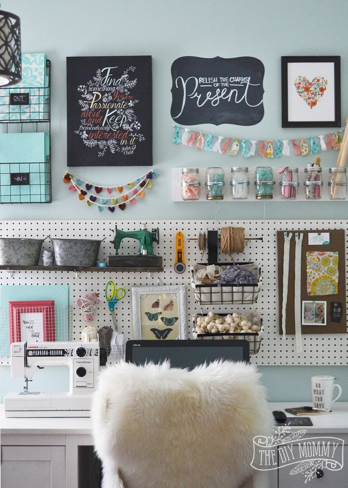 If You Don T Have E For An Entire Craft Room Perhaps A Closet Will Do Remember Organize None Of These Containers Is