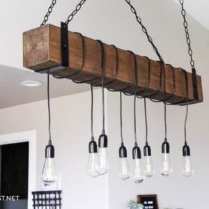 8 Easy DIY Light Fixtures