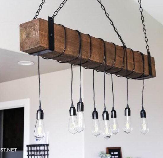 8 Easy DIY Light Fixtures