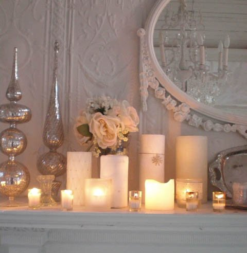 candles bedroom