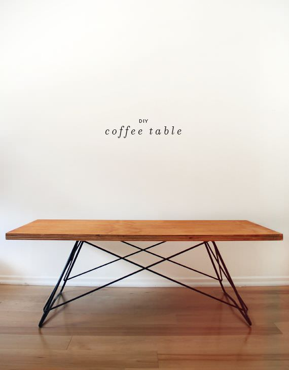 diy coffe table
