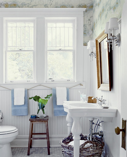 Bathroom nautical design home decoration live for Bathroom ideas nautical