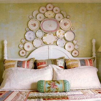 Donu0027t forget that you donu0027t have to hang plates on the wall to appreciate their beauty in home decorating. Use a pretty dessert plate to set a pillar candle ... & 5 Ways to Decorate with Plates u2022 The Budget Decorator