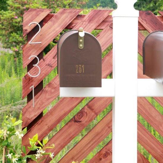 Modern Mailbox DIY