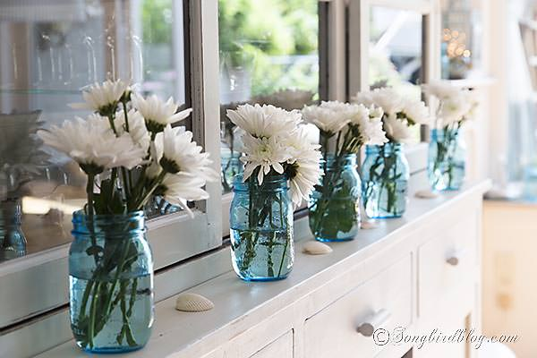 Flowers as decor