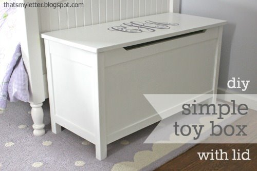 toy box with lid