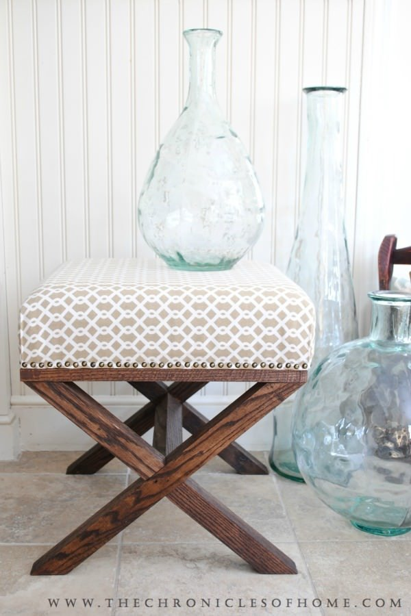 diy ottoman projects the budget decorator