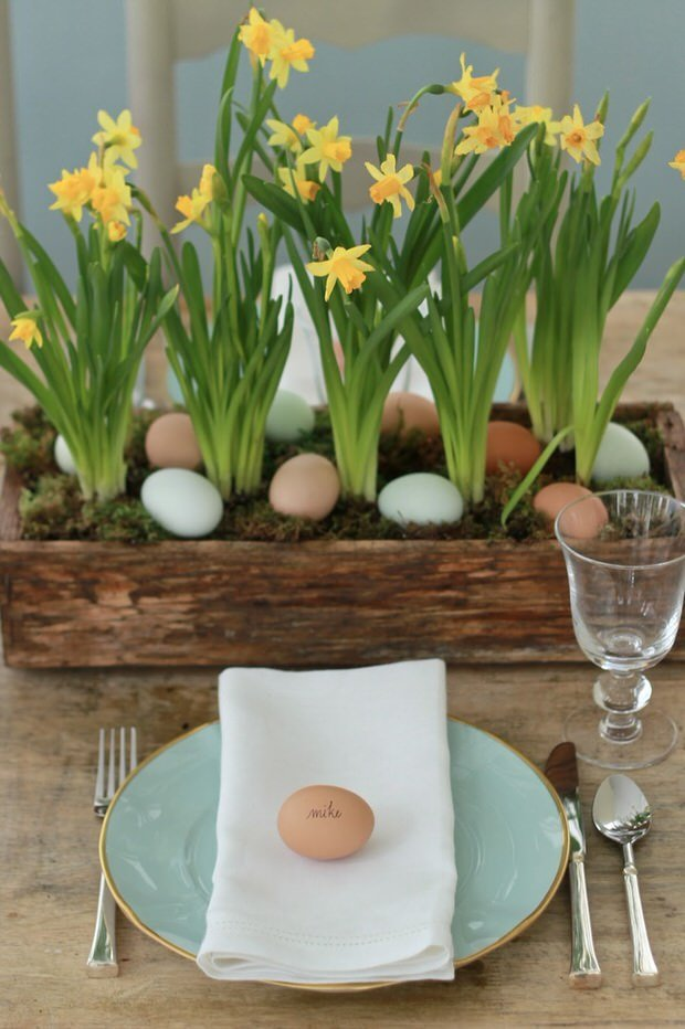 Easter table decoration ideas the budget decorator