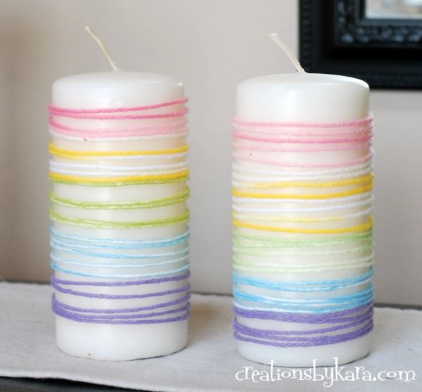 Yarn-Wrapped-Easter-Candles-008-600x557