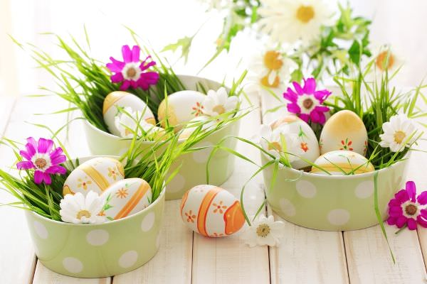 Image result for photos of easter table decorations ideas